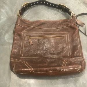 Coach Whipstitch Shoulder Bag